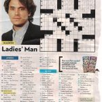 John Mayer   People Magazine Crossword I Love Doin People Magazine   Printable People Crossword Puzzles