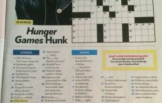 Josh Hutcherson Crossword In People July 11Th, 2016 Issue   Cross   Printable Crossword Puzzles From People Magazine