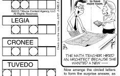 Jumble Archives | Tribune Content Agency   Jumble Puzzle Printable   Printable Jumble Crossword Puzzles