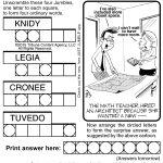 Jumble Archives | Tribune Content Agency   Jumble Puzzle Printable   Printable Jumble Puzzle