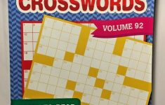 Kappa Large Print Crosswords Puzzles Volume 92 #kappa | Puzzle Books   Large Print Crossword Puzzle Books For Seniors