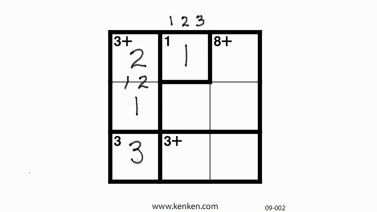 Kenken Puzzle Related Keywords & Suggestions - Kenken Puzzle Long - Printable Kenken Puzzles 3X3