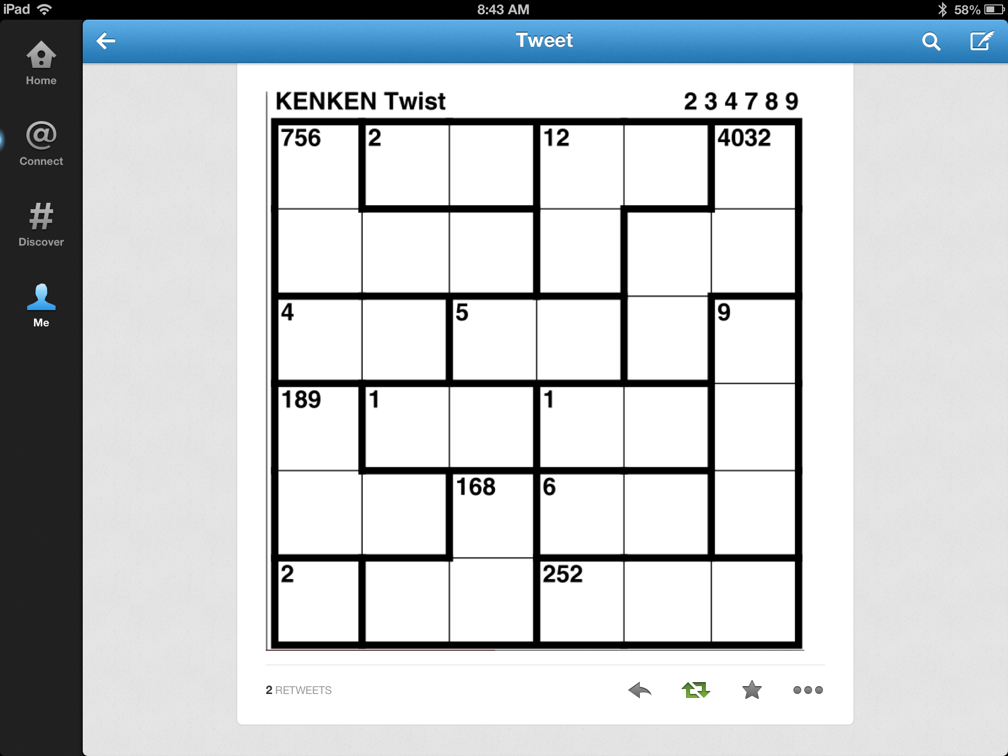 Kenken Puzzles Are My Favorite (That And Zupelz) | Math | Puzzle - Printable Kenken Puzzles