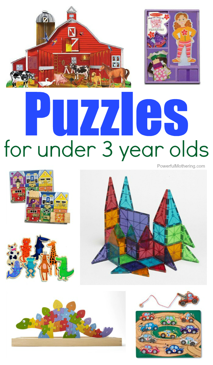 Kid Approved: Puzzles For 2 - 3 Year Olds - Printable Puzzles For 3 Year Olds