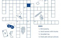 Kids' Crossword Puzzles To Print   Activity Shelter   Printable Hanukkah Crossword Puzzles