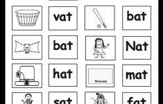 Kindergarten: Christmas Table Games Phonics Puzzles Printable   Printable Phonics Puzzles
