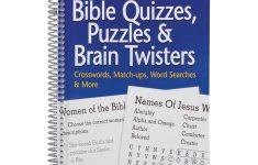 Large Print Bible Puzzle Book   Bible Puzzles   Walter Drake   Puzzle Print Reviews