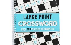 Large Print Crossword   Crossword Books At The Works   Large Print Crossword Puzzle Books For Seniors