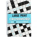 Large Print Crossword | Crossword Books At The Works   Printable Crossword Puzzle Book