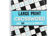 Large Print Crossword   Crossword Books At The Works   Puzzle Print Uk