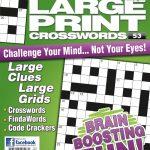 Large Print Crosswords Magazine   Lovatts Crossword Puzzles Games   Printable Lovatts Crosswords