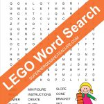 Lego Word Search Free Printable   Printable Lego Crossword Puzzle