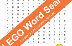 Lego Word Search Free Printable   Printable Lego Crossword Puzzle
