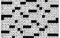 Lem's Levity: Port Cities   Printable Crossword Puzzles By Frank Longo