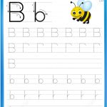 Letter B Is For Bee Handwriting Practice Worksheet | Free Printable   Letter B Puzzle Printable