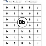 Letter B: Letter Detective Uppercase & Lowercase Visual   Letter B Puzzle Printable