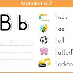 Letter B Tracing Worksheet | Free Printable Puzzle Games   Letter B Puzzle Printable
