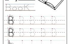 Letter B Worksheets For Preschoolers   Printable Letter B Tracing   Letter B Puzzle Printable