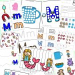 Letter M Worksheets   Fun With Mama   Letter M Puzzle Printable
