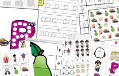 Letter P Worksheets + Printables   Fun With Mama   Printable Letter Puzzle