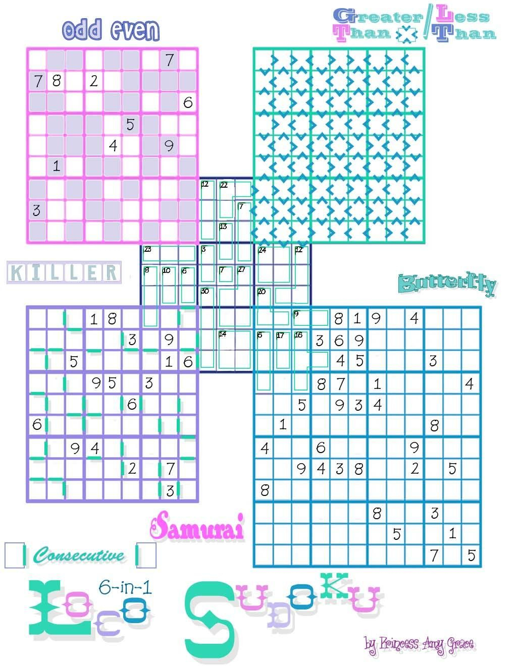 Loco Sudoku | Puzzles---Crossword-Sudoku-Jigsaw&???? | Puzzle - Printable Crossword Sudoku Puzzles