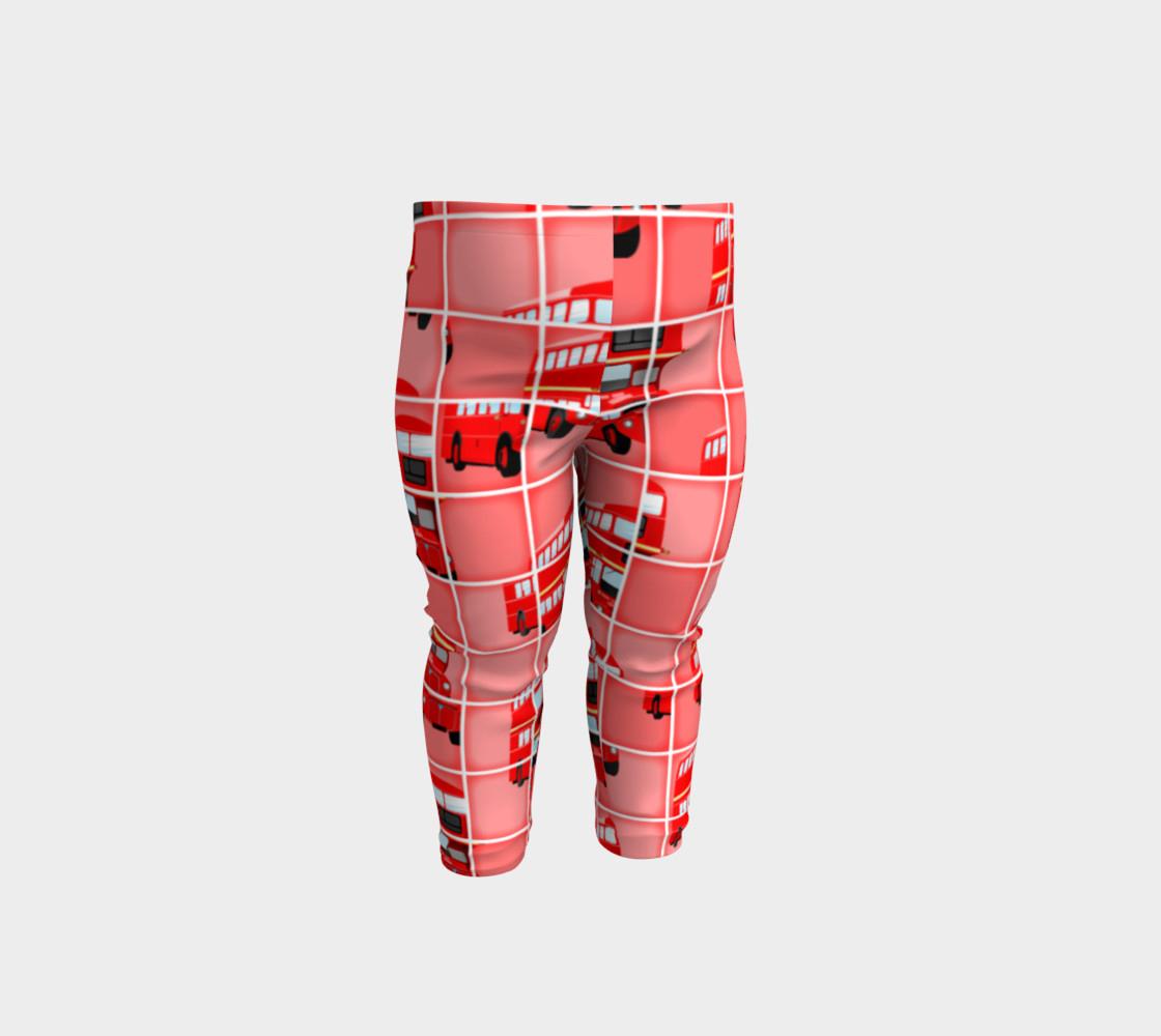 London Bus Pixel Puzzle, Baby Leggingsprawny   Shop   Art Of Where - Puzzle Print Leggings