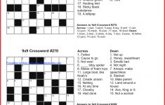 Luxury Puzzles To Print | Cobble Usa   Free Printable Crossword Puzzles October 2017