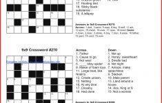 Luxury Puzzles To Print   Cobble Usa   Usa Printable Crossword Puzzles