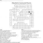 Macbeth Crossword Puzzle Crossword   Wordmint   Printable Tagalog Crossword Puzzle