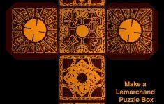 Make A Lemarchands Boxsupersmeg123 On Deviantart | Chaz | Diy   Printable Hellraiser Puzzle Box