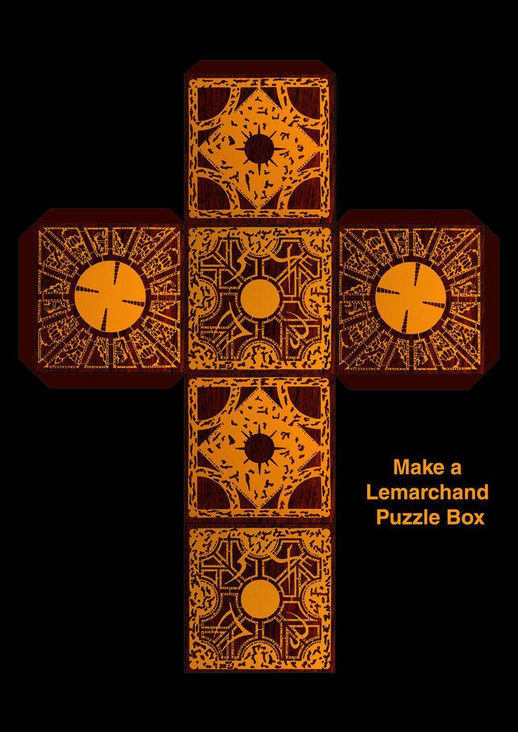 Make A Lemarchands Boxsupersmeg123 On Deviantart | Chaz | Diy - Printable Hellraiser Puzzle Box