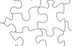 Make Jigsaw Puzzle   4 Piece Printable Puzzle