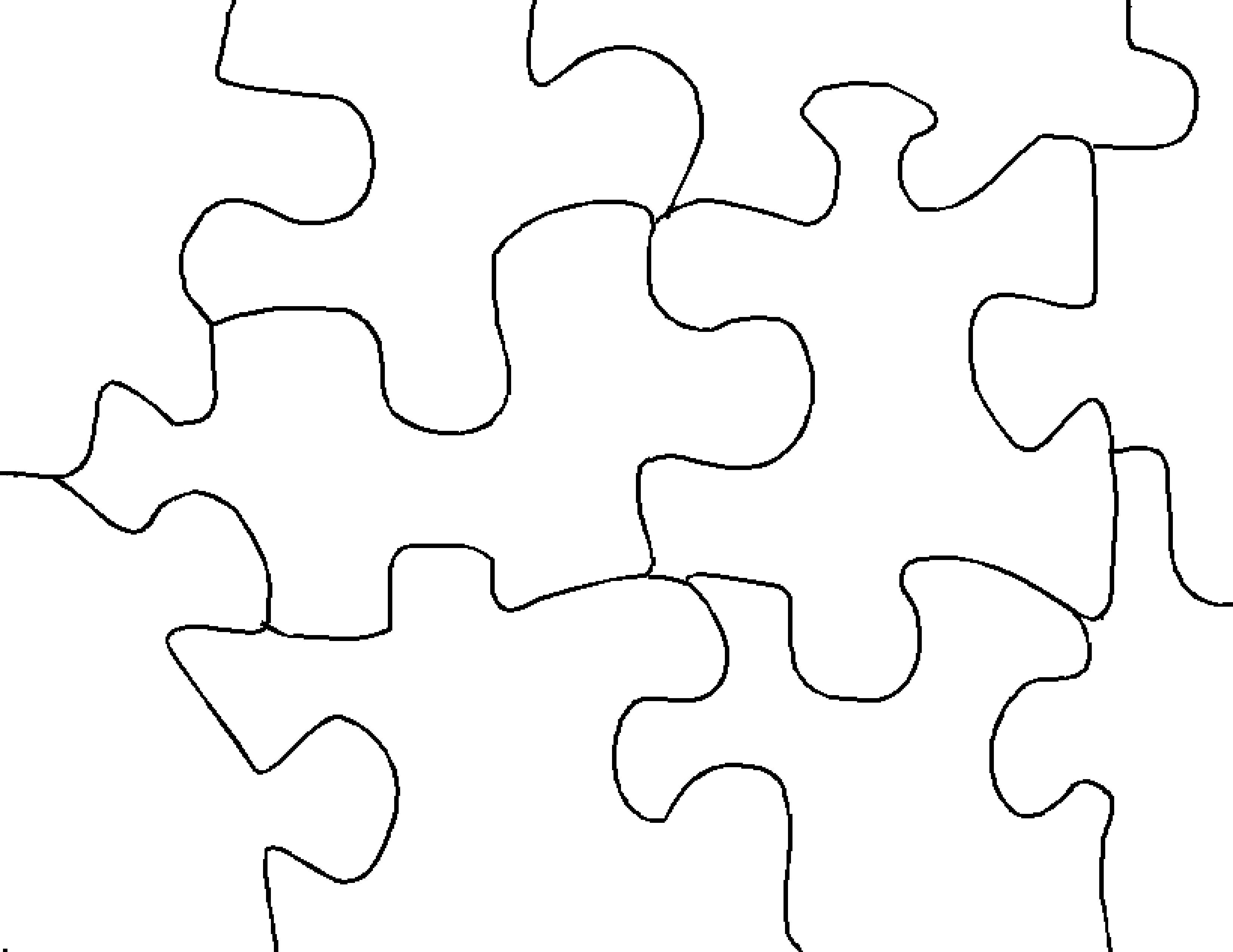 Make Jigsaw Puzzle - Printable Jigsaw Puzzle Paper