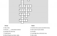 Make Your Own Fun Crossword Puzzles With Crosswordhobbyist   Make Your Own Crossword Puzzle Free Printable With Answer Key