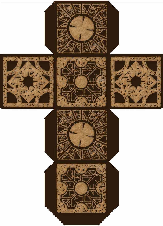 Make Your Own 'hellraiser Box' | Hellraiser | Puzzle Box, Box - Printable Hellraiser Puzzle Box
