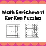 Math Enrichment Freebies   Kenken Puzzles | Ed   Math | Math   Printable Kenken Puzzles