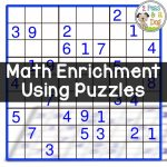 Math Enrichment Freebies   Kenken Puzzles | Teaching | Math   Printable Kenken Puzzles