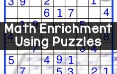 Math Enrichment Freebies   Kenken Puzzles | Teaching | Math   Printable Kenken Puzzles