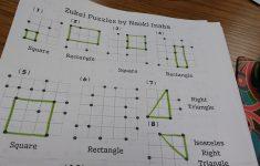 Math = Love: Zukei Puzzles For Practicing Geometric Vocabulary   Printable Tarsia Puzzles English