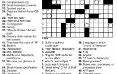 Math Puzzle Worksheets 7Th Grade   Antihrap   Printable Crossword Puzzles For 7Th Graders