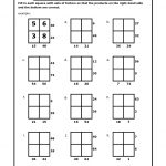 Math Puzzles Printable For Learning | Activity Shelter   Printable Multiplication Puzzle