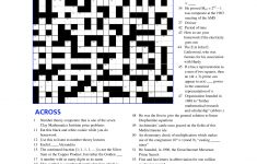 Math Puzzles Printable For Learning | Educative Puzzle For Kids   Free Printable Math Crossword Puzzles