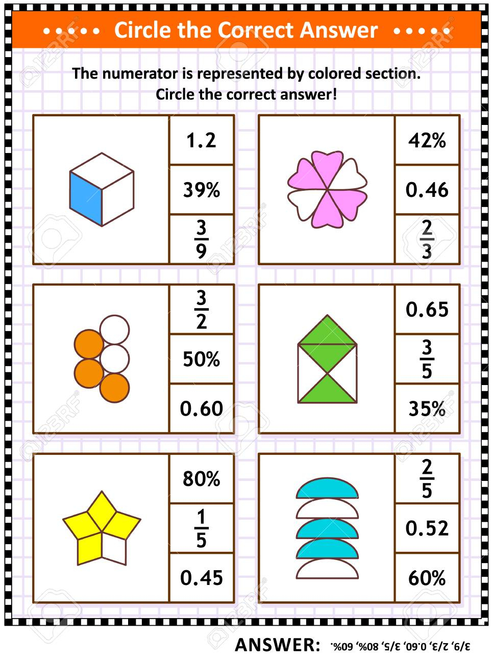 Math Skills And Iq Training Visual Puzzle Or Worksheet For - Worksheet Visual Puzzle