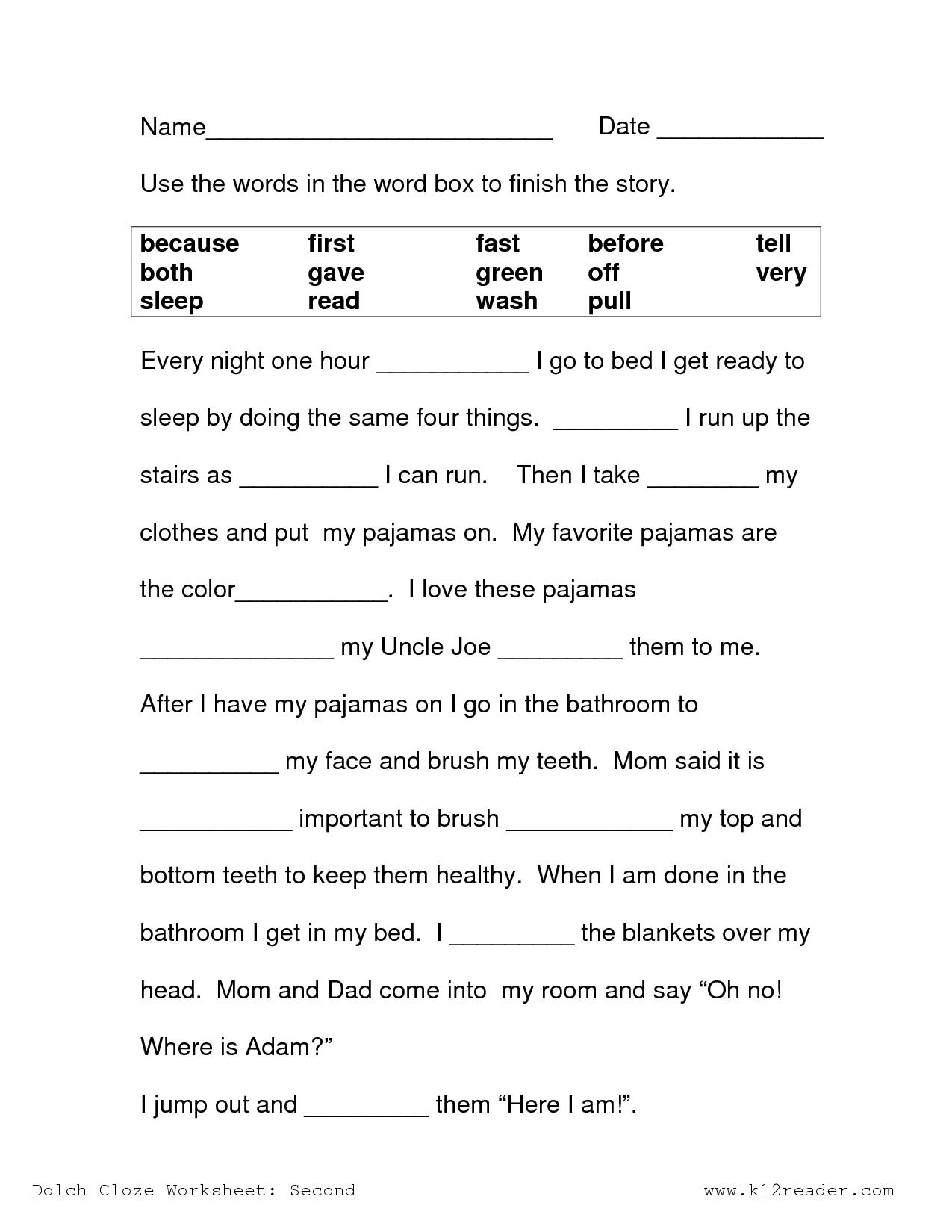 Math Worksheet: 2Nd Grade Science Worksheets Free Printable Easy - Printable Crossword Puzzles 2Nd Grade