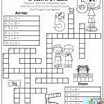 Math Worksheet Game Worksheets 7Th Grade Puzzle 6Th For Second Free   Printable Multiplication Puzzles