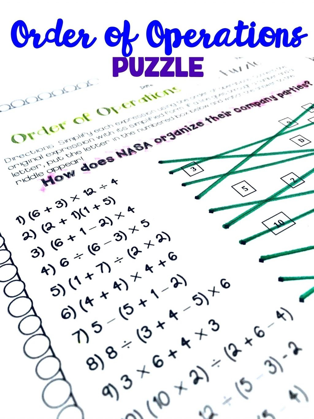Maths Puzzles Worksheets Fun Math High School Pdf 6Th Grade Ks3 For - Printable Math Puzzles Pdf