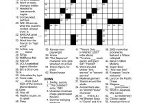 Matt Gaffney's Weekly Crossword Contest: May 2011   Printable North Of 49 Crossword Puzzles