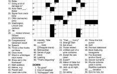 Matt Gaffney's Weekly Crossword Contest: November 2009   Printable Crossword Puzzles By Frank Longo