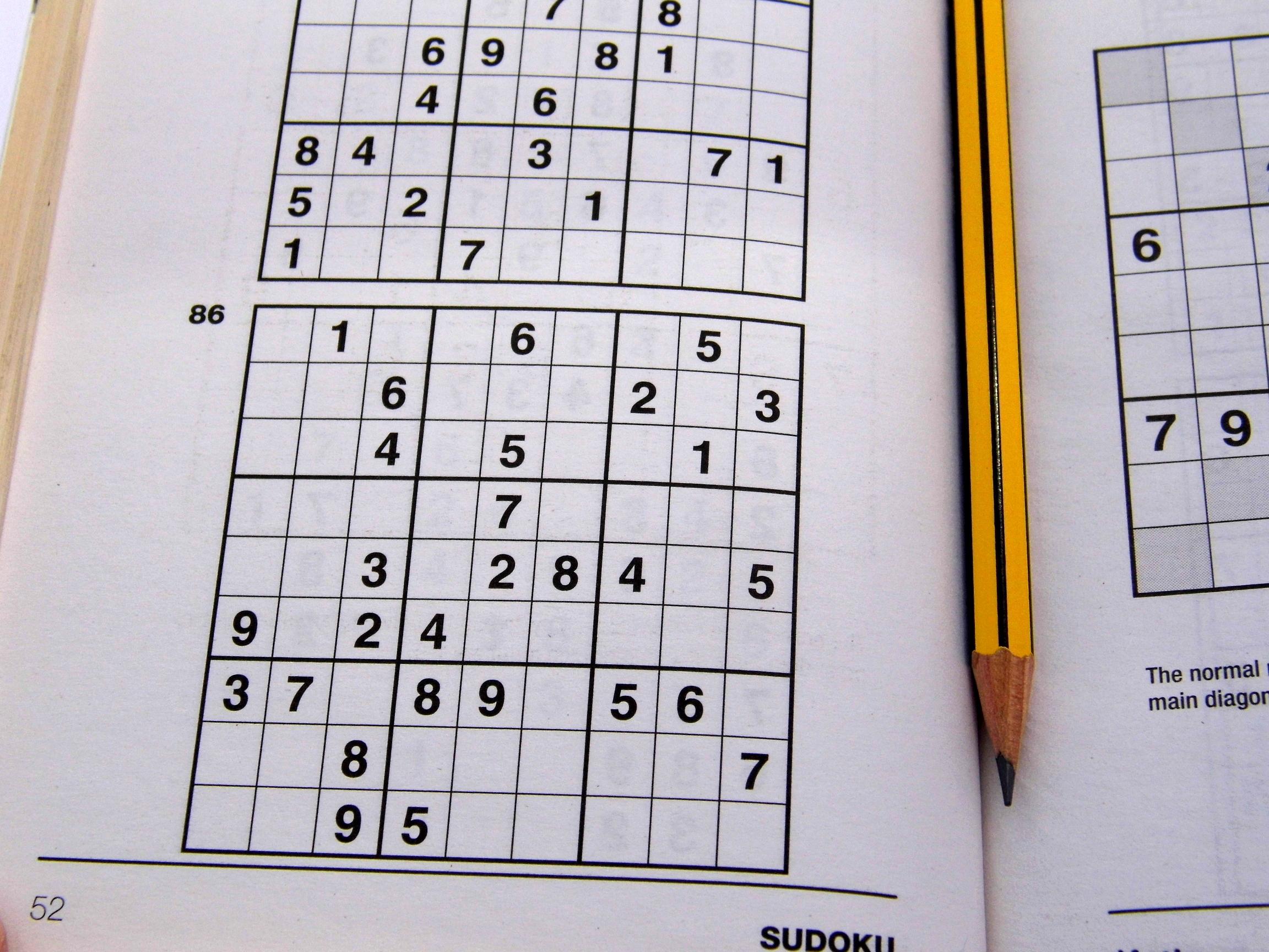 Medium Printable Sudoku Puzzles 6 Per Page – Book 1 – Free Sudoku - Printable Sudoku Puzzles 6 Per Page