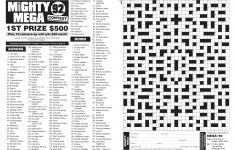 Mega! Crosswords Magazine   Lovatts Crosswords & Puzzles   Printable Crossword Nz